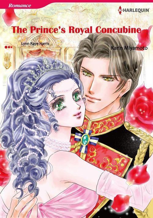 Harlequin Comics: The Prince's Royal Concubine