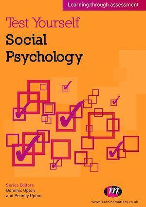 Test Yourself: Social Psychology