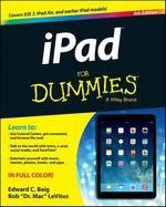 Vente Livre Numérique : IPad For Dummies  - Edward C. BAIG - Bob LEVITUS