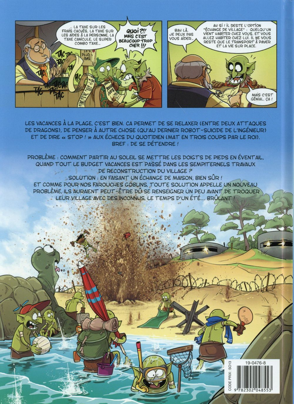 Goblin's t.9 ; sable chaud et légionnaires