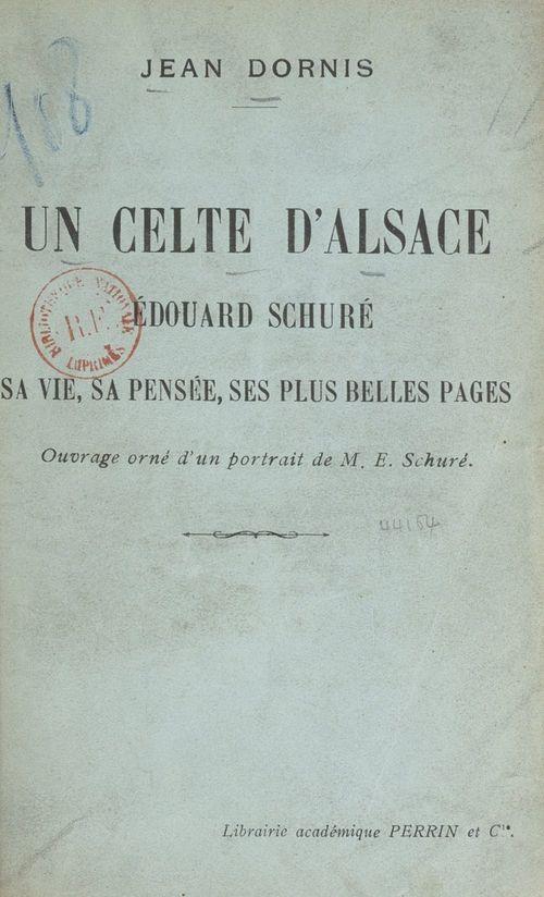 Un Celte d'Alsace