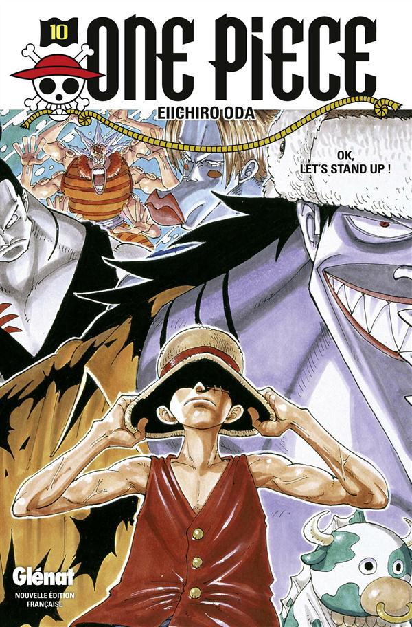 One Piece - édition originale t.10 ; OK, let's stand up !
