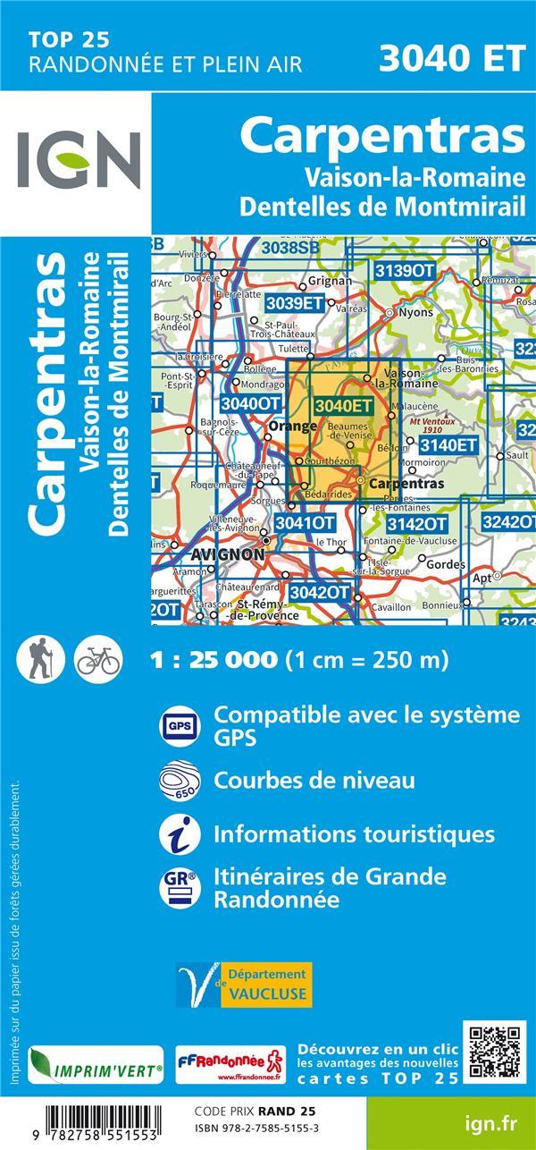 3040ET ; Carpentras (5e édition)