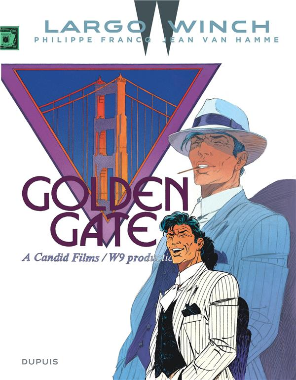 LARGO WINCH - TOME 11 - GOLDEN GATE (GRAND FORMAT) Van Hamme Jean