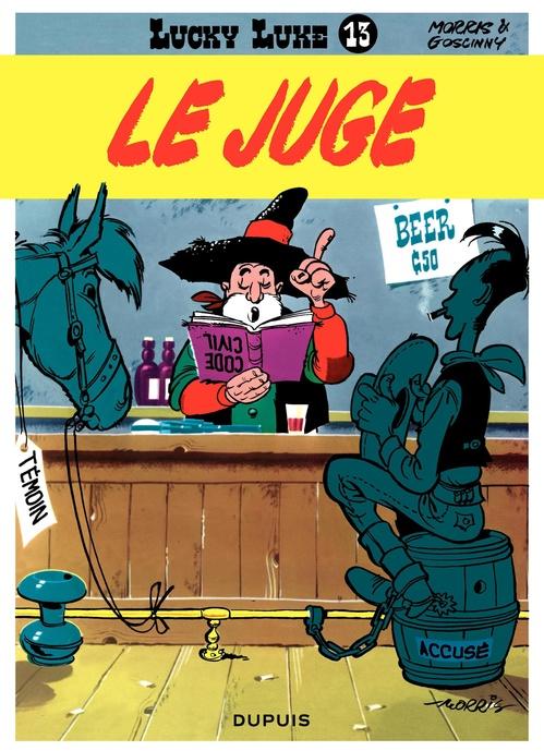 Lucky Luke - Tome 13 - LE JUGE