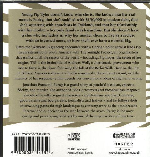 PURITY - 20 CDS UNABRIDGED