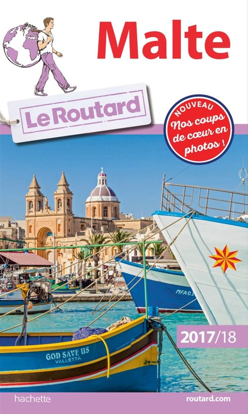 Guide du Routard Malte 2017/18