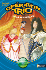 Vente Livre Numérique : Vol à Versailles  - Isabel - Marc Cantin