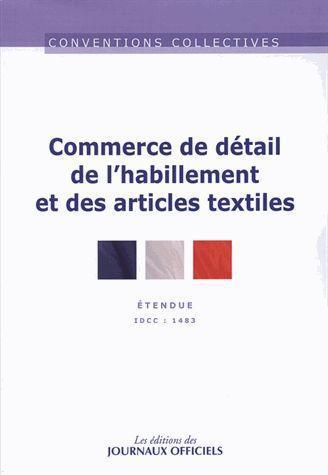 Commerce De Detail De L'Habillement Et Des Articles Textiles