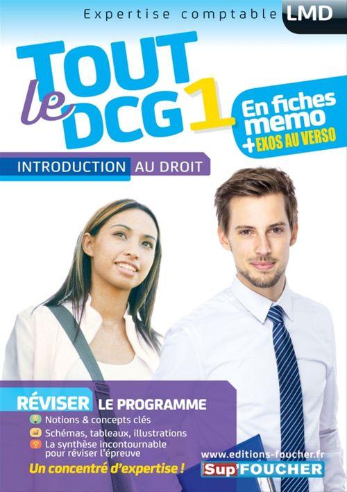Vente Livre Numérique : Tout le DCG 1 - Introduction au droit  - Alain Burlaud  - Françoise Rouaix