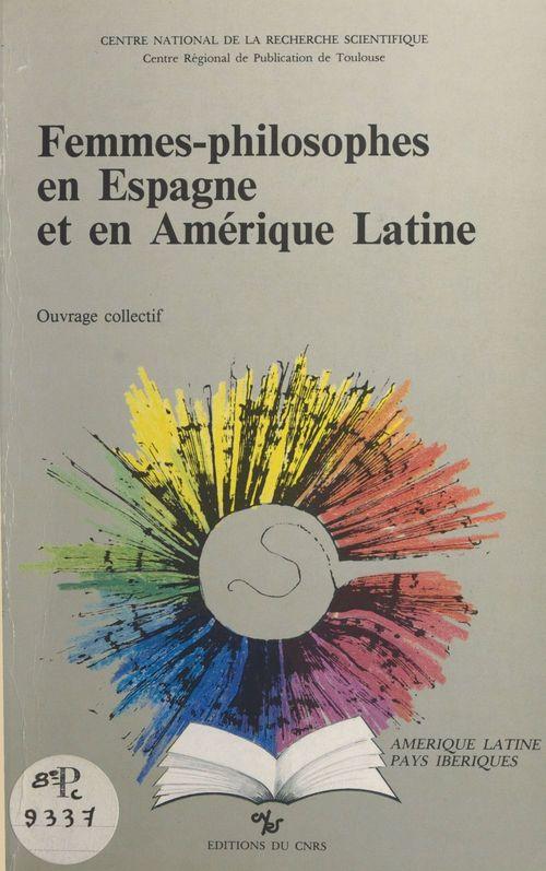 Femmes-philosophes en espagne et en amerique latine