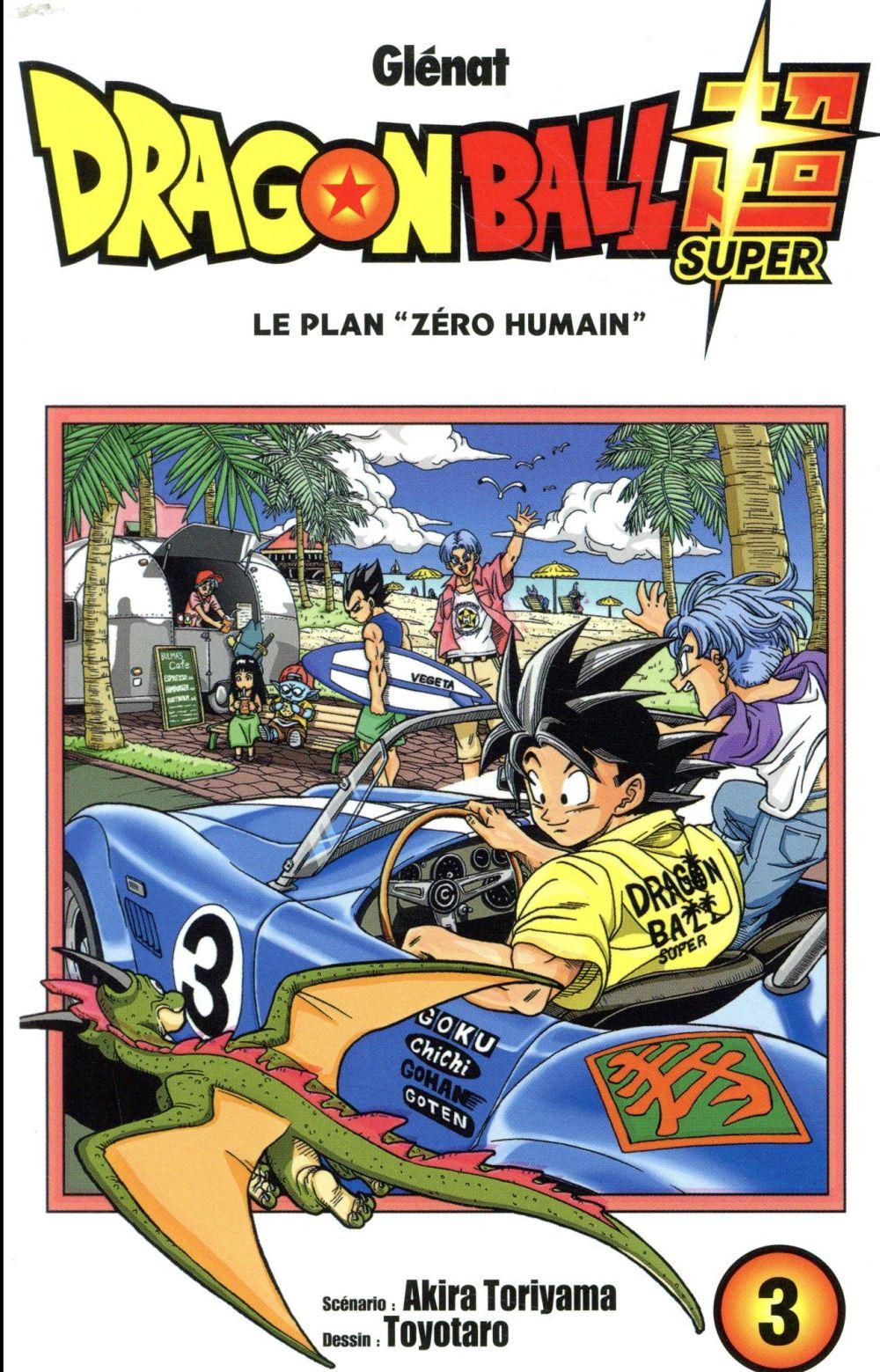 Dragon Ball Super T.3 ; le plan
