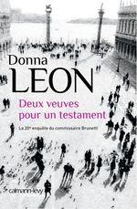 Vente Livre Numérique : Deux veuves pour un testament  - Donna Leon