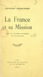 La France et sa mission