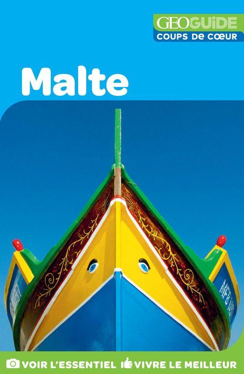 GEOguide coups de coeur ; Malte (édition 2018)