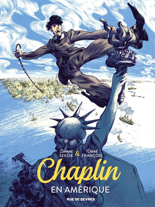 Chaplin T.1 ; Chaplin en Amérique