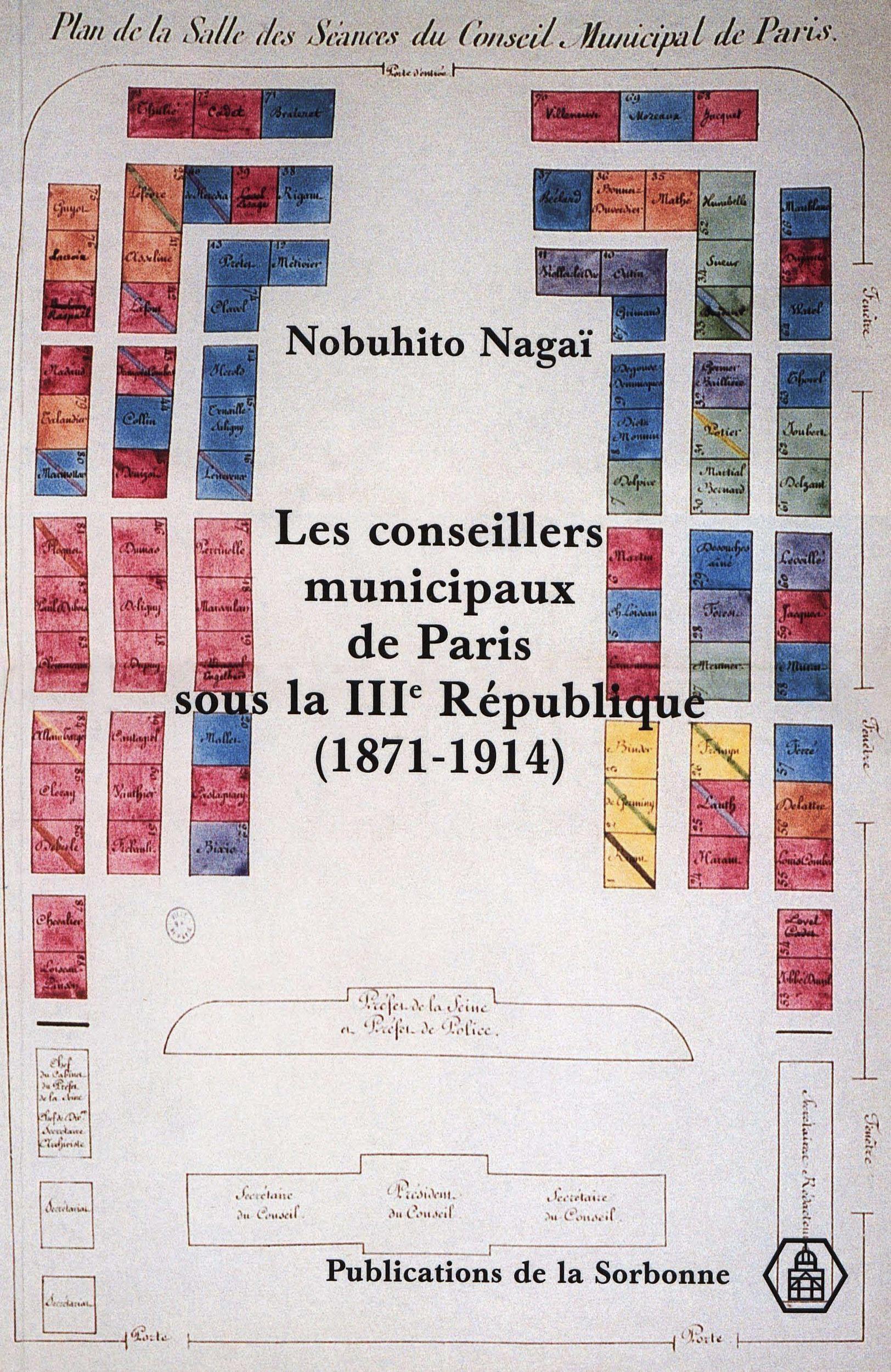 les conseillers municipaux de paris sous la troisieme republique (1871-1914)