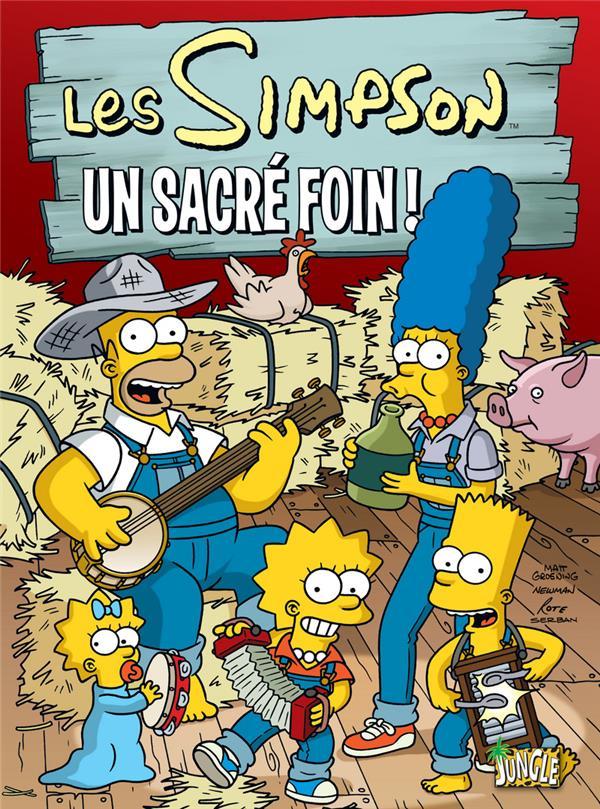 Les Simpson T2 Un Sacre Foin !