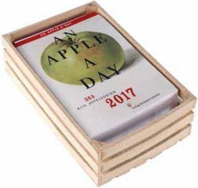 An apple a day kalender 2017