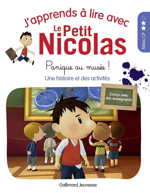 j'apprends à lire avec Le Petit Nicolas t.5 ; panique au musée