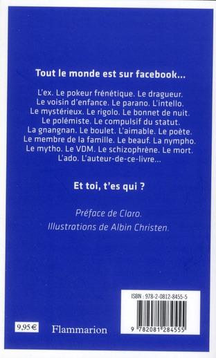 Et toi, t'es qui ? petite typologie des profils facebook