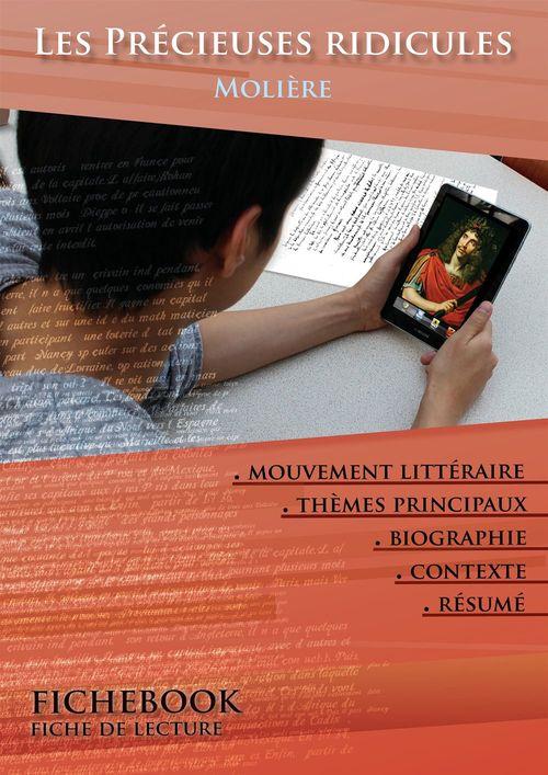Fiche de lecture Les Précieuses ridicules - Résumé détaillé et analyse littéraire de référence