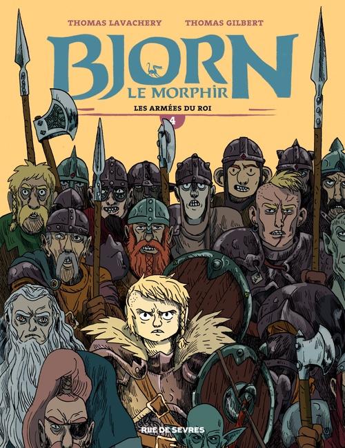 Bjorn le Morphir T.4 ; les armées du roi