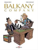 Vente Livre Numérique : Balkany Company  - Renaud DELY