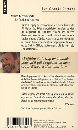 Les aventures du capitaine Alatriste t.1 ; le capitaine Alatriste