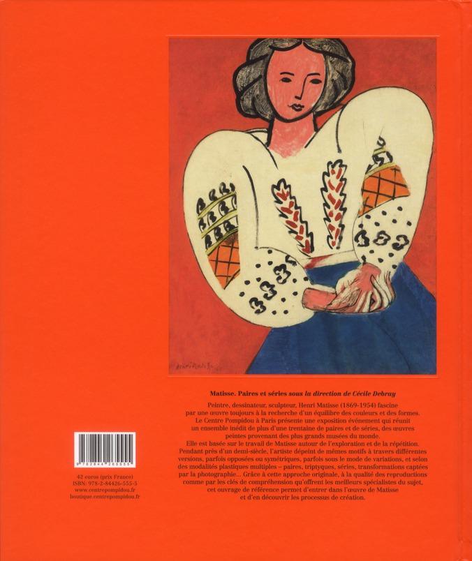 Matisse ; paires et séries