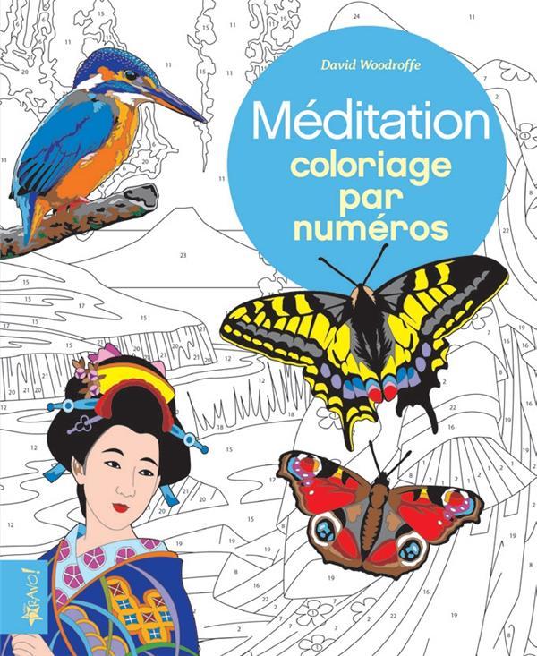 Coloriage par numéro ; méditation