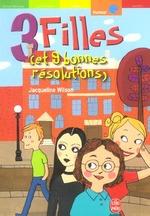 Couverture de 3 filles (et 9 bonnes resolutions)