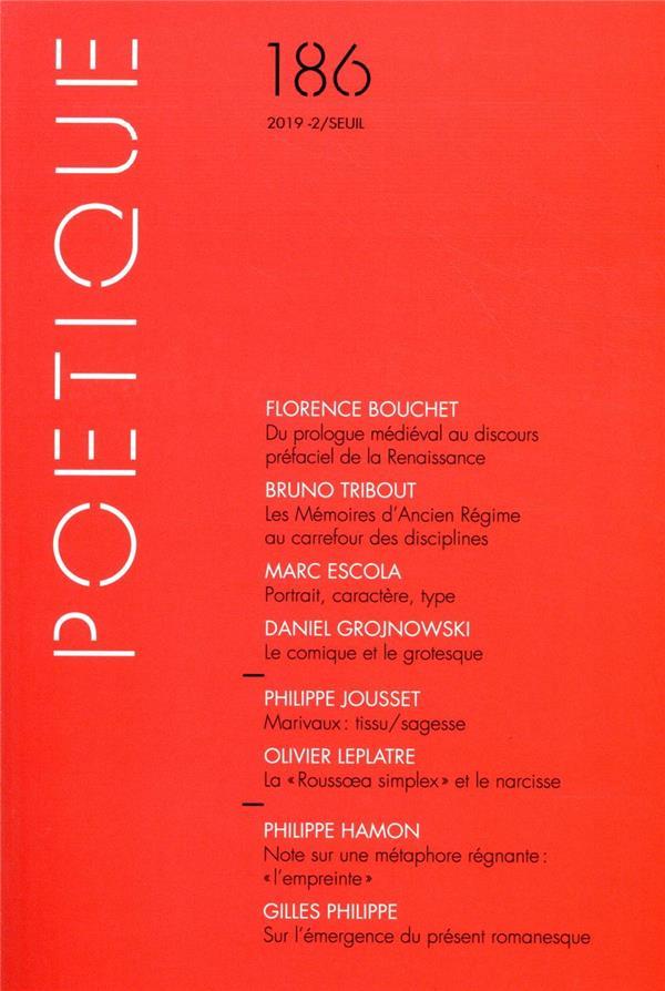 Revue poetique n.186