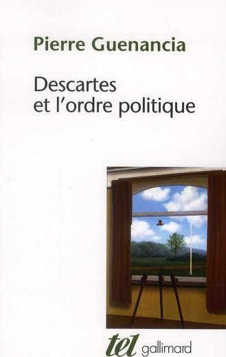 Descartes et l'ordre politique
