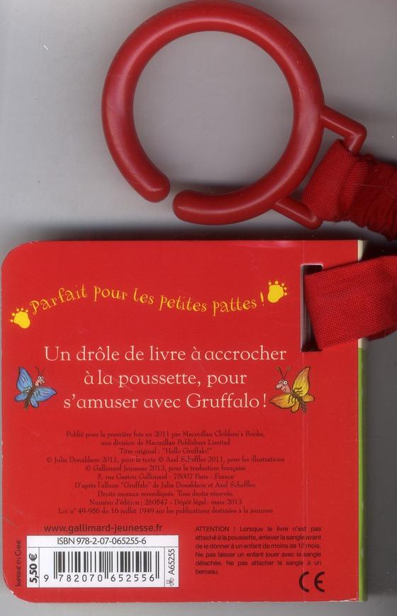 Coucou, Gruffalo! un livre poussette