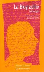 La biographie ; anthologie