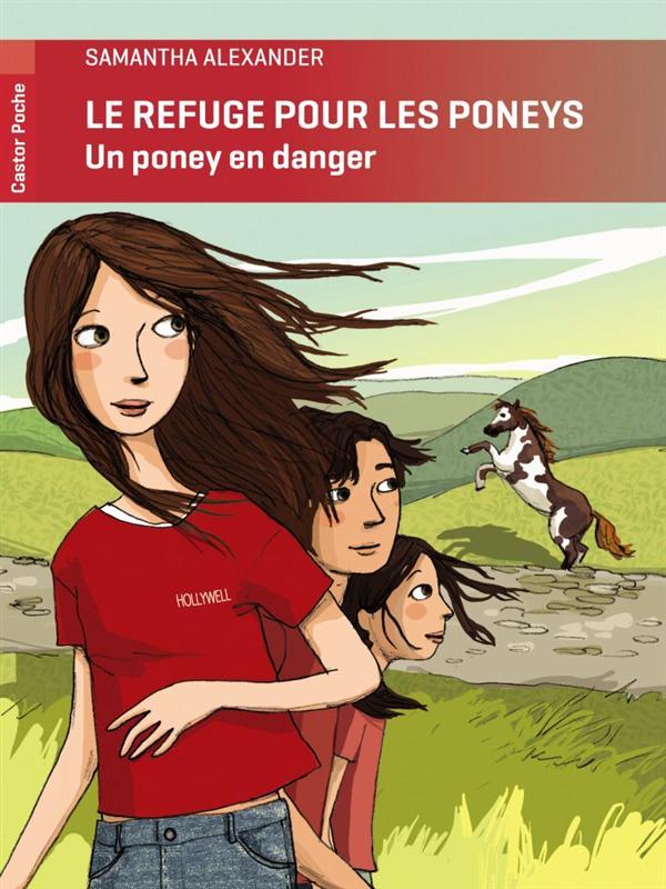 le refuge pour les poneys ; un poney en danger