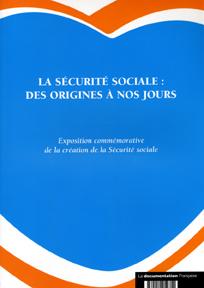 Securite sociale:des origines a nos jours (la)