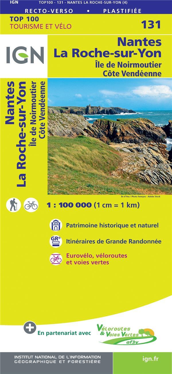 TOP100131 ; Nantes, la roche-sur-Yon, île de Noirmoutier, côte Vendéenne