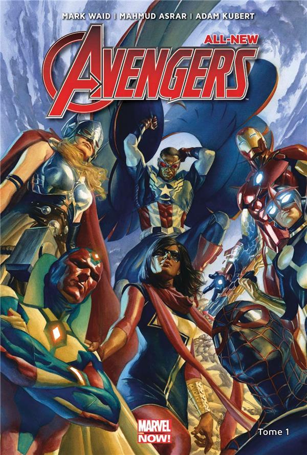 All new Avengers T.1