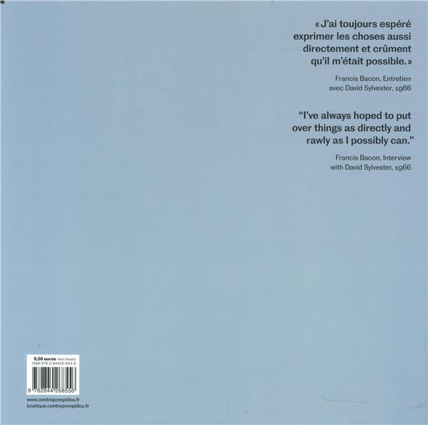 Bacon en toutes lettres ; album de l'exposition