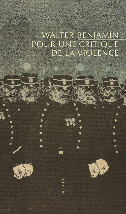 Pour critique de la violence