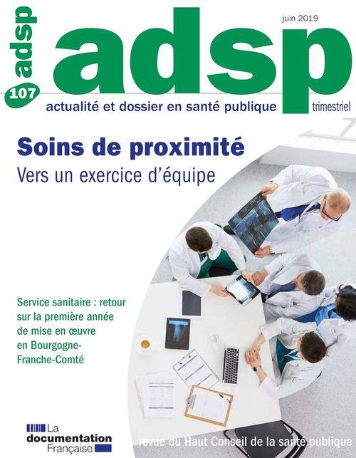 Soins de proximité : vers un exercice d´équipe  - Haut Comite De La Sante Publique  - Haut conseil de la santé publique (HCSP)