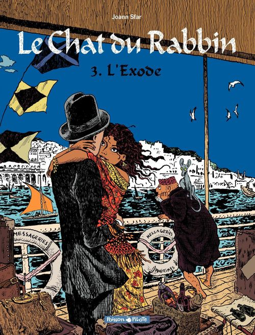 Le chat du rabbin T.3 ; l'exode