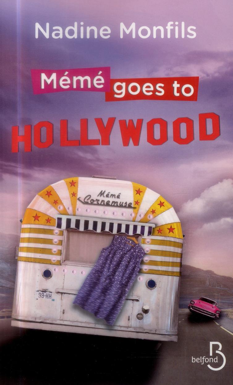 Couverture de Mémé goes to hollywood