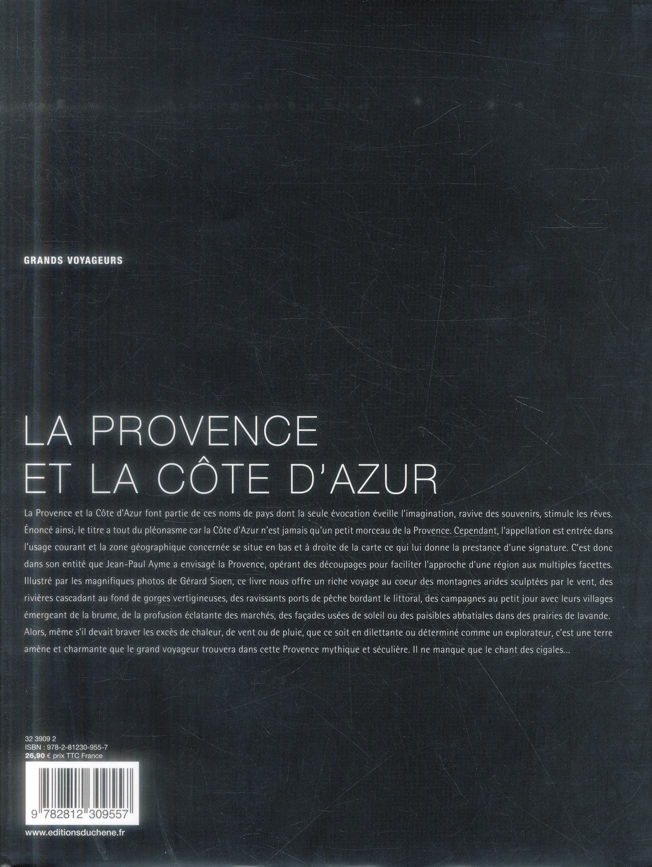la Provence et la Côte d'Azur