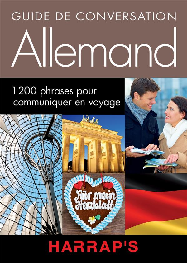 Allemand ; guide de conversation