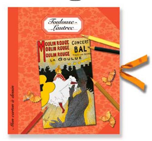 Mon carton à dessin Toulouse-Lautrec
