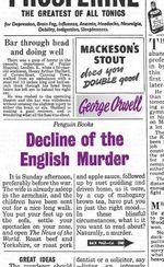 Vente EBooks : Decline of the English Murder  - George ORWELL