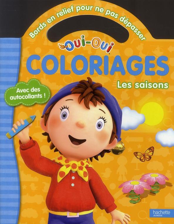 Coloriages ; Les Saisons